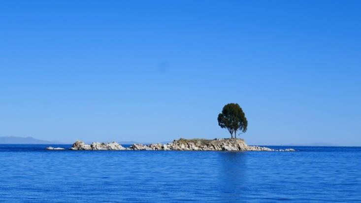 Navigation le lendemain pour nous rendre sur l'Isla del Sol où nous avons rendez-vous