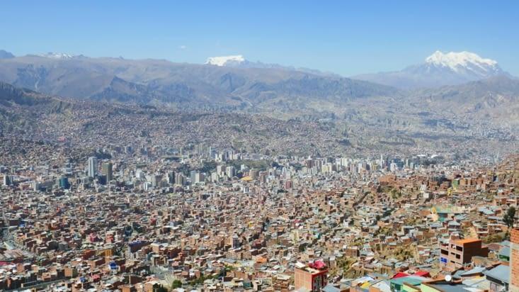 Arrivée à  La Paz.