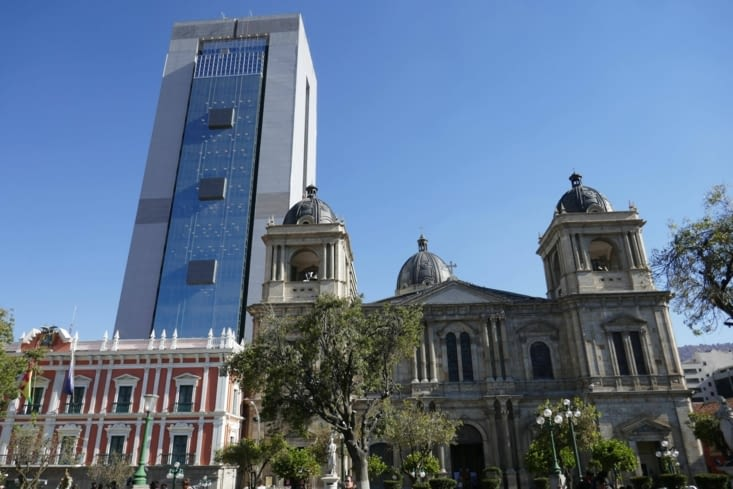 Le centre historique est bien différent du reste de la ville