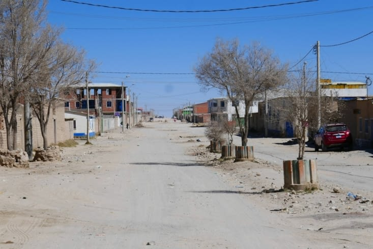 """En plein jour, c'est une ville aux airs de far west avec un gros zeste de """"no man's land"""""""