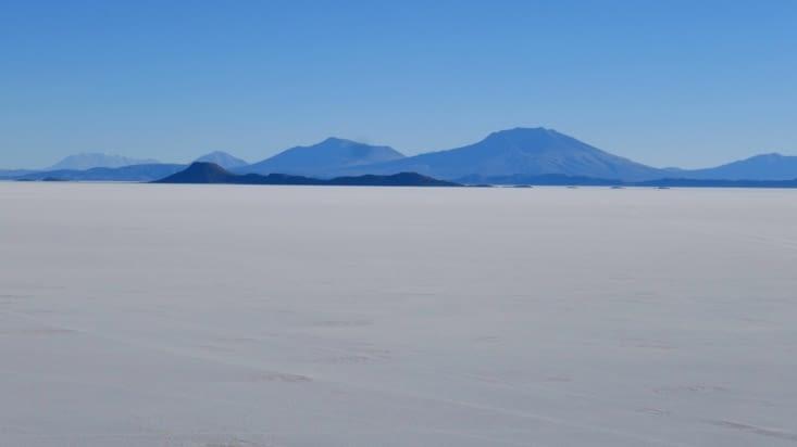 Perdue dans un désert de sel qui fut océan