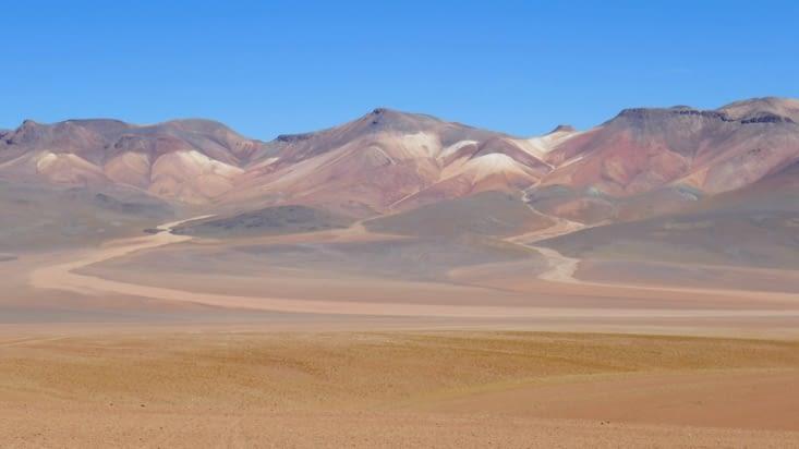 Un remake de la montagne aux 7 couleurs d'Argentine