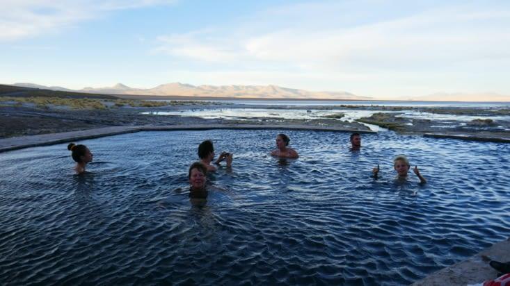 -15 °c dehors mais 37°c dans les hot-springs ! !!