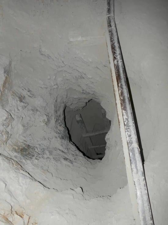 Encore un trou avec quelques étages en dessous