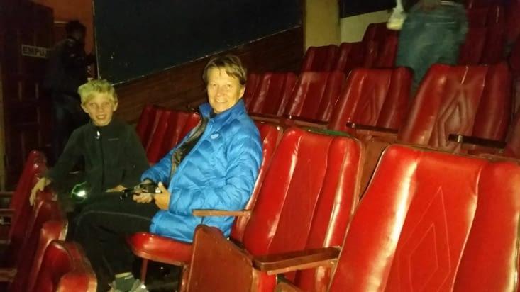 salle de cinéma dernier cri et en 3D !