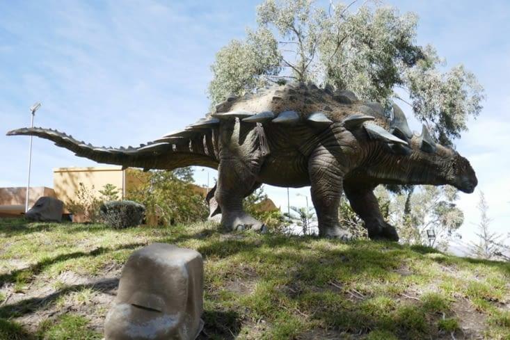 Anquilosaure: un herbivore impressionnant de 4m