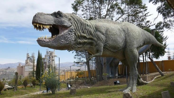 Et voici le célèbre Tyrannosaure : le prédateur ultime