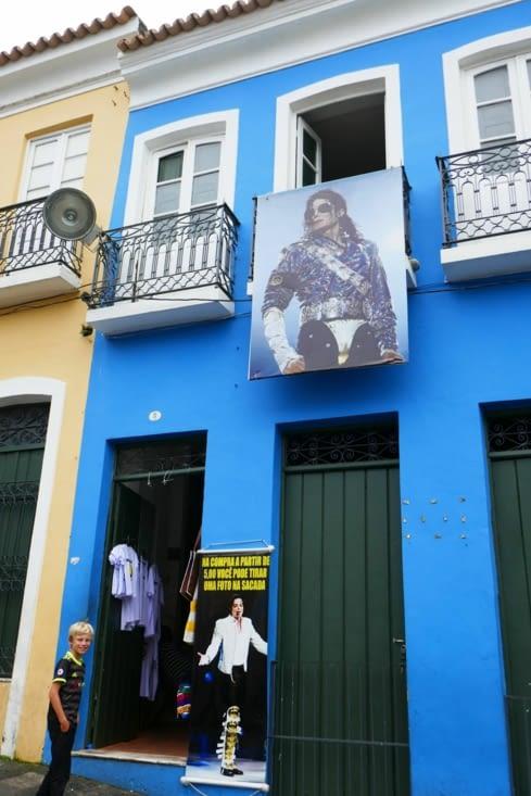 La maison officielle où Mickael Jackson est venu faire son clip