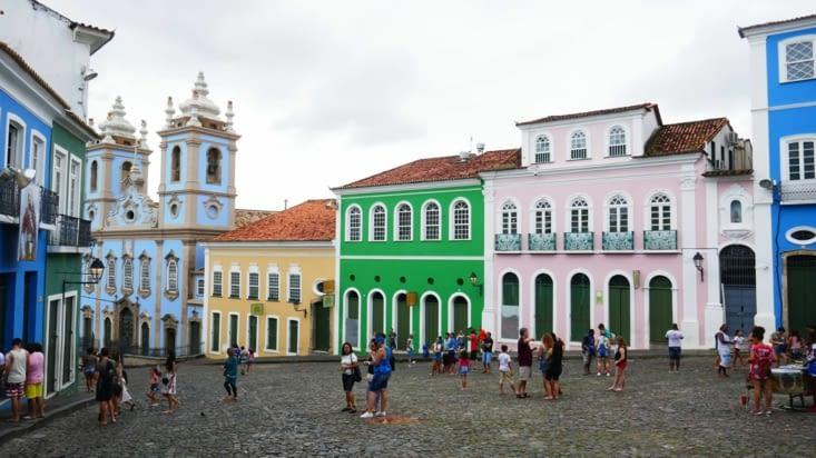 L'architecture coloniale a été bien conservée dans cette vieille ville