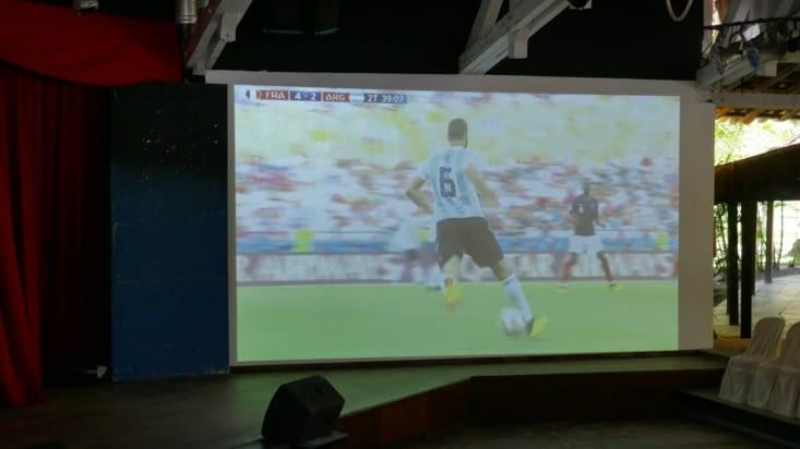 Sport encore mais à la TV