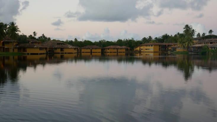 les chambres côté lac