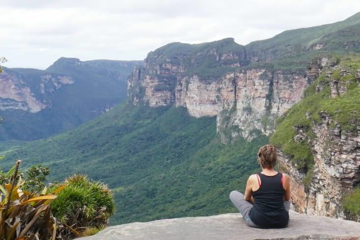 C'est vrai que le canyon est vraiment magnifique et le point de vue extraordinaire