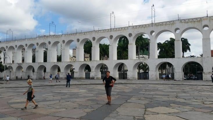 L'Arcos de Lapa : un ancien aqueduc