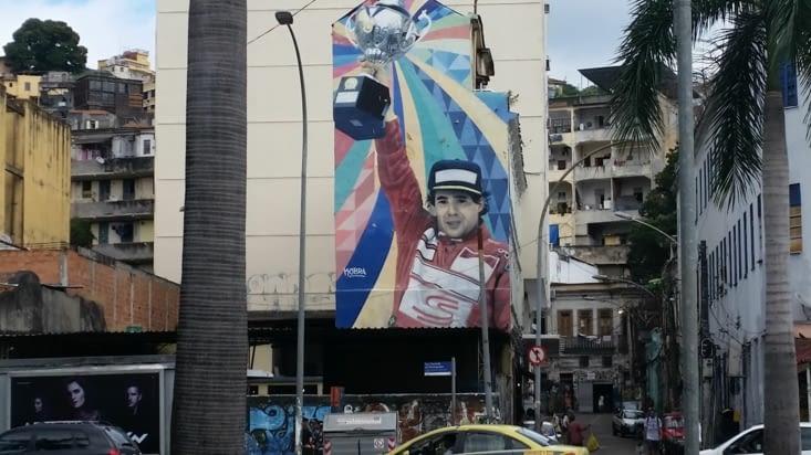 Ayrton Senna est omniprésent au Brésil