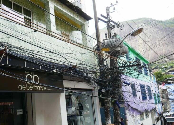 Bon pour l'électricité il y a encore du boulot.