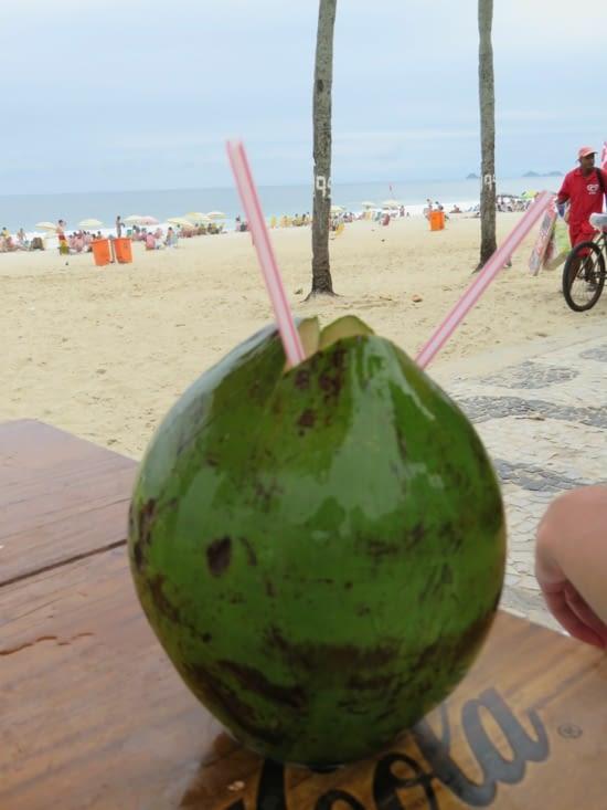 Coco au bord de l'eau