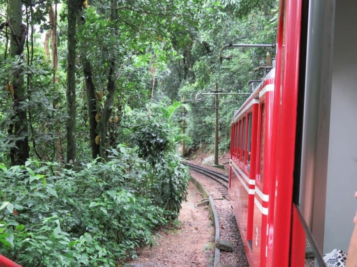 Le petit train du Corcovado