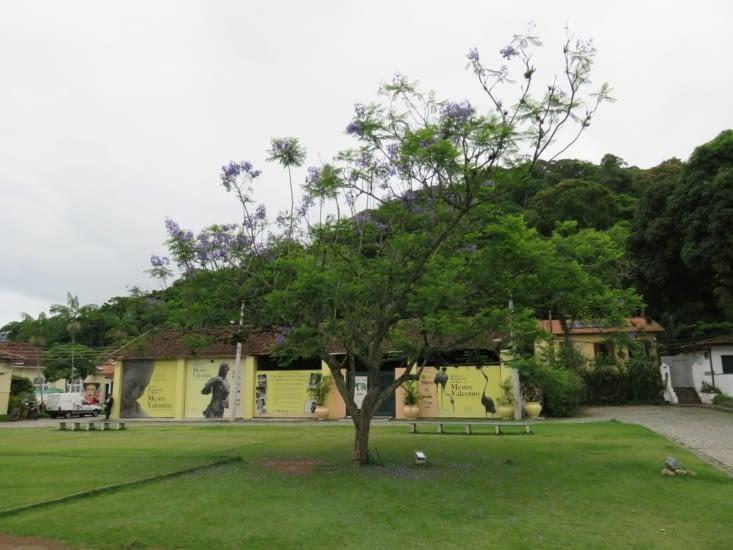 L'entrée du jardin botanique