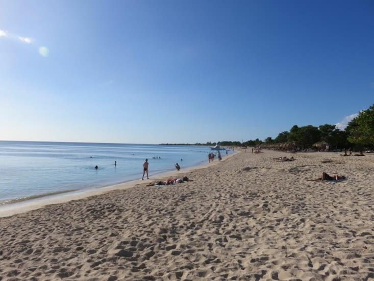 La plage de Trinidad