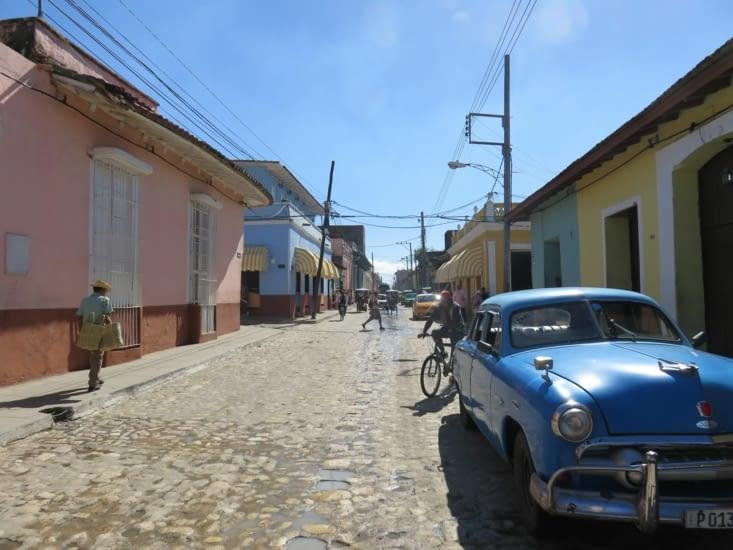 Les rues sont très colorées