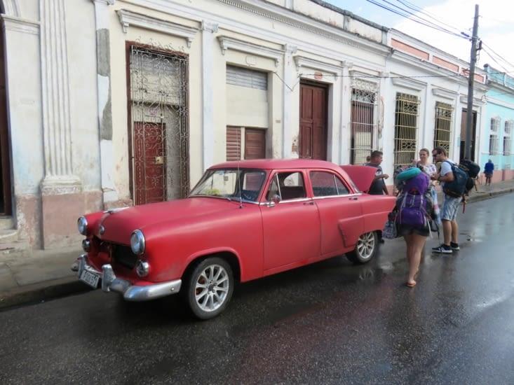 Notre taxi pour Trinidad