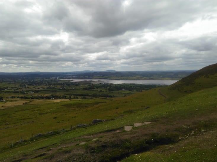 En haut du Knocknarea