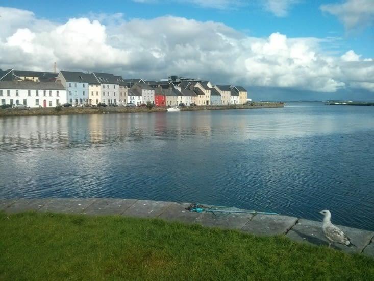 Galway les pieds dans l'eau