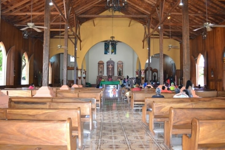 L'église de San Juan del Sur