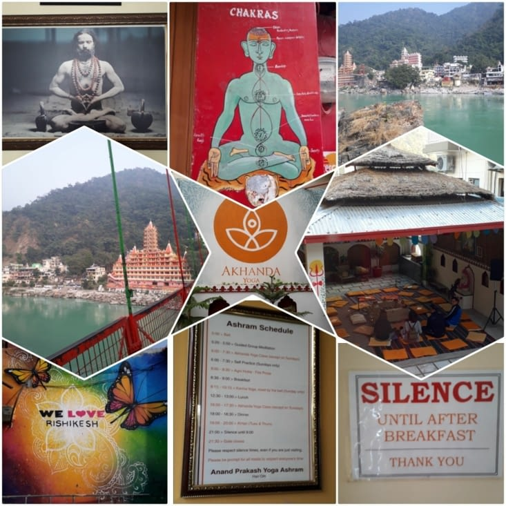 1 semaine de méditation et de yoga dans un ashram à Rishikesh