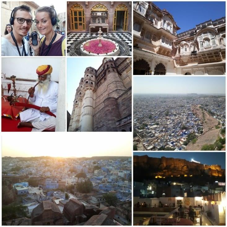 Johpur la ville bleue et son fort