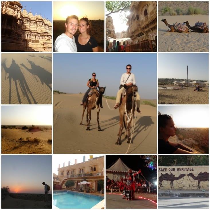 Le désert de Jaisalmer et le début des catastrophes...