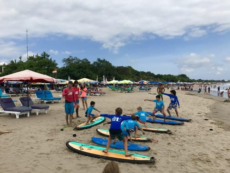 Surf school @   Kuta