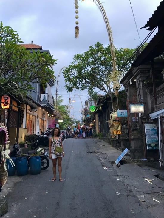 une autre petite ruelle très sympa, Jalan Gootama