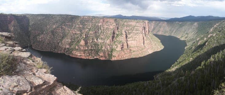 Reservoir de flaming gorge