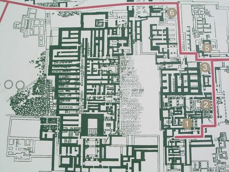 Plan du palais