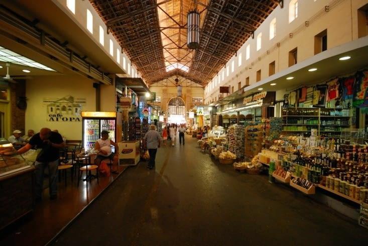 Le marché couvert de La Canée