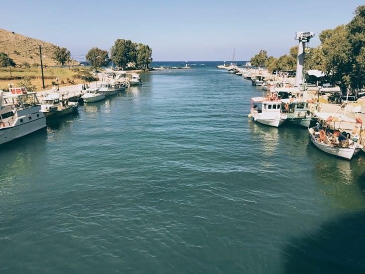 La marina / le port de Georgioupoli