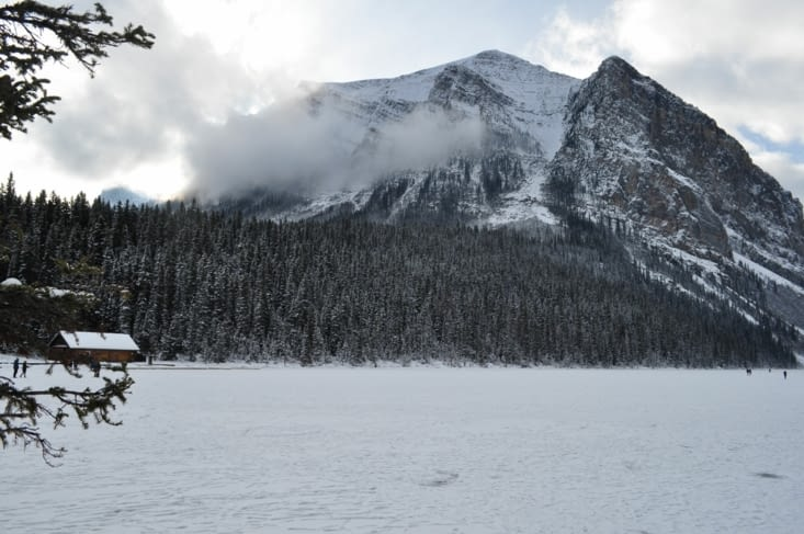 Le Lac Louise !!
