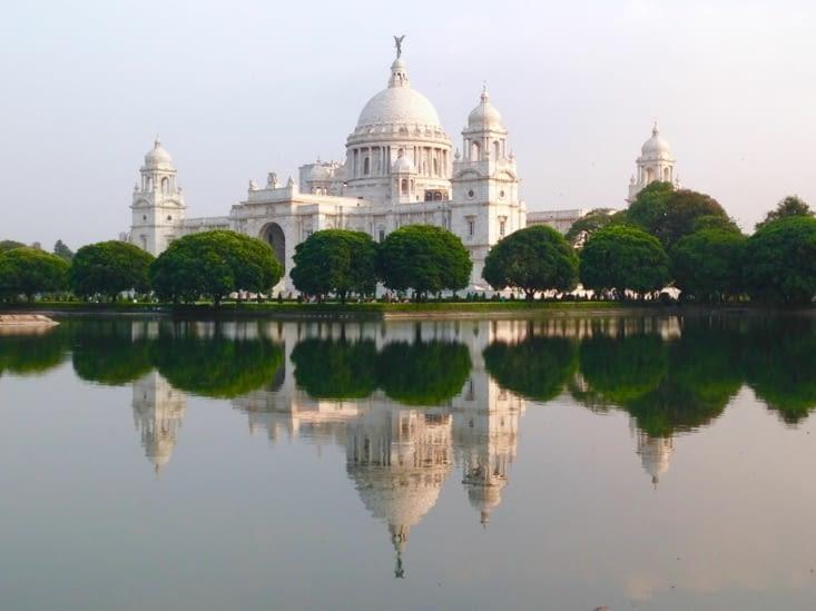 Le Victoria Mémorial, un héritage colonial