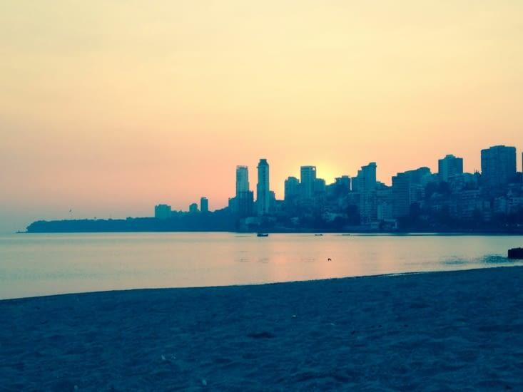 Coucher de soleil mumbaïkar