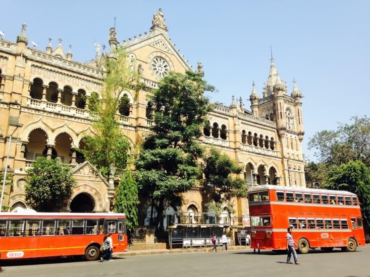 La gare Victoria de Mumbai
