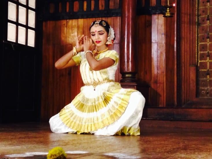 La danse indienne, toute en émotions