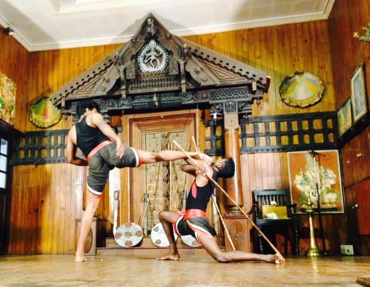 Le kalaripayat, un art martial exigeant