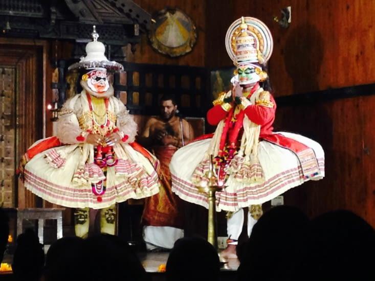 Le kathakali, théâtre muet traditionnel