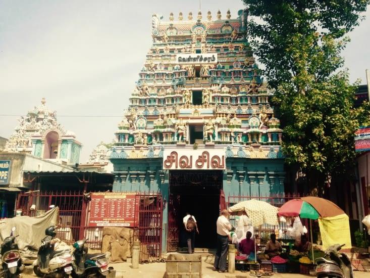 Chennai, ses rues et ses temples hindous