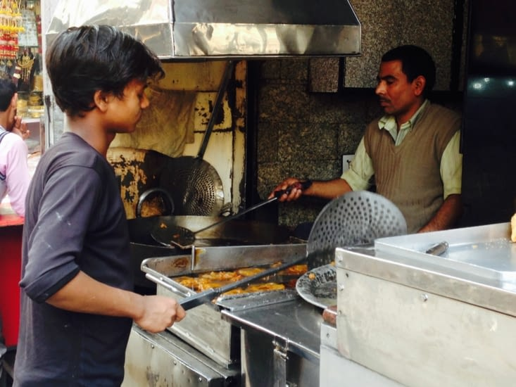 Les jalebis : incontournables de la street food de Delhi