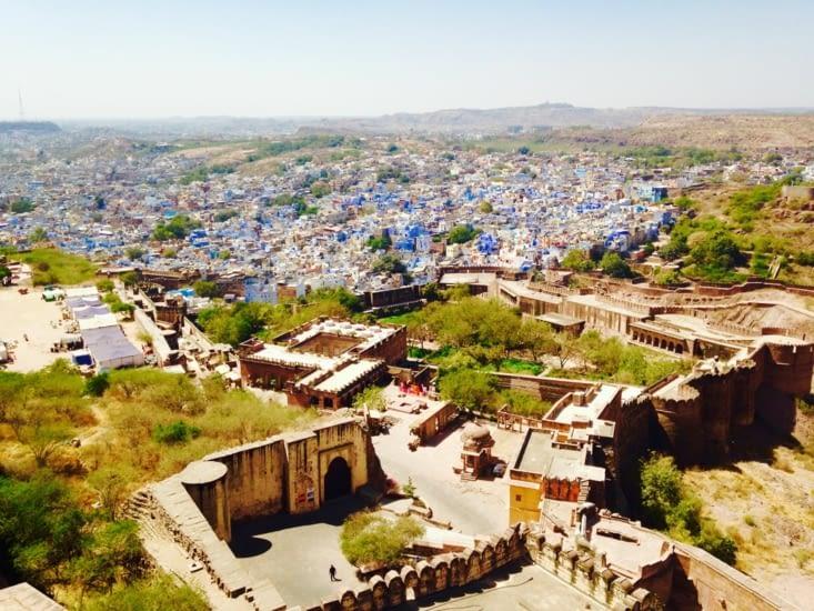 Jodhpur, ville bleue au milieu du désert