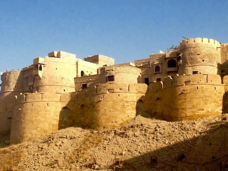 Le majestueux fort de Jaisalmer