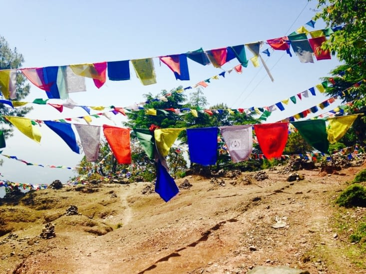 Les drapeaux de prières : des promesses confiées aux vents