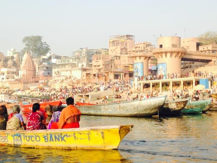 Sur les rives du Gange...